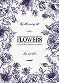 Fényképek Virágos háttér, pasztell színek