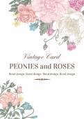 Kártya rózsa és a pünkösdi rózsa