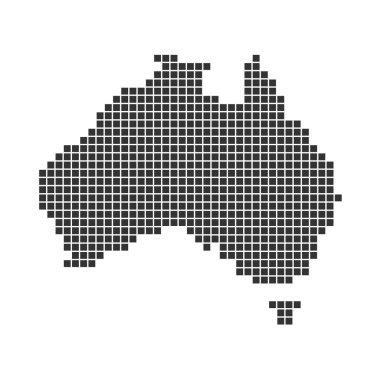 Pixel Map of Australia