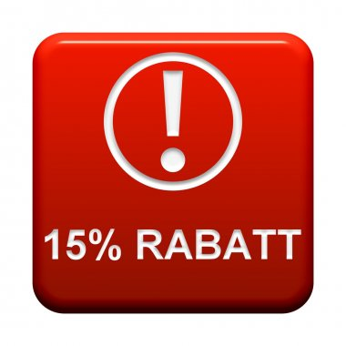 Button - 15 Percent  discount