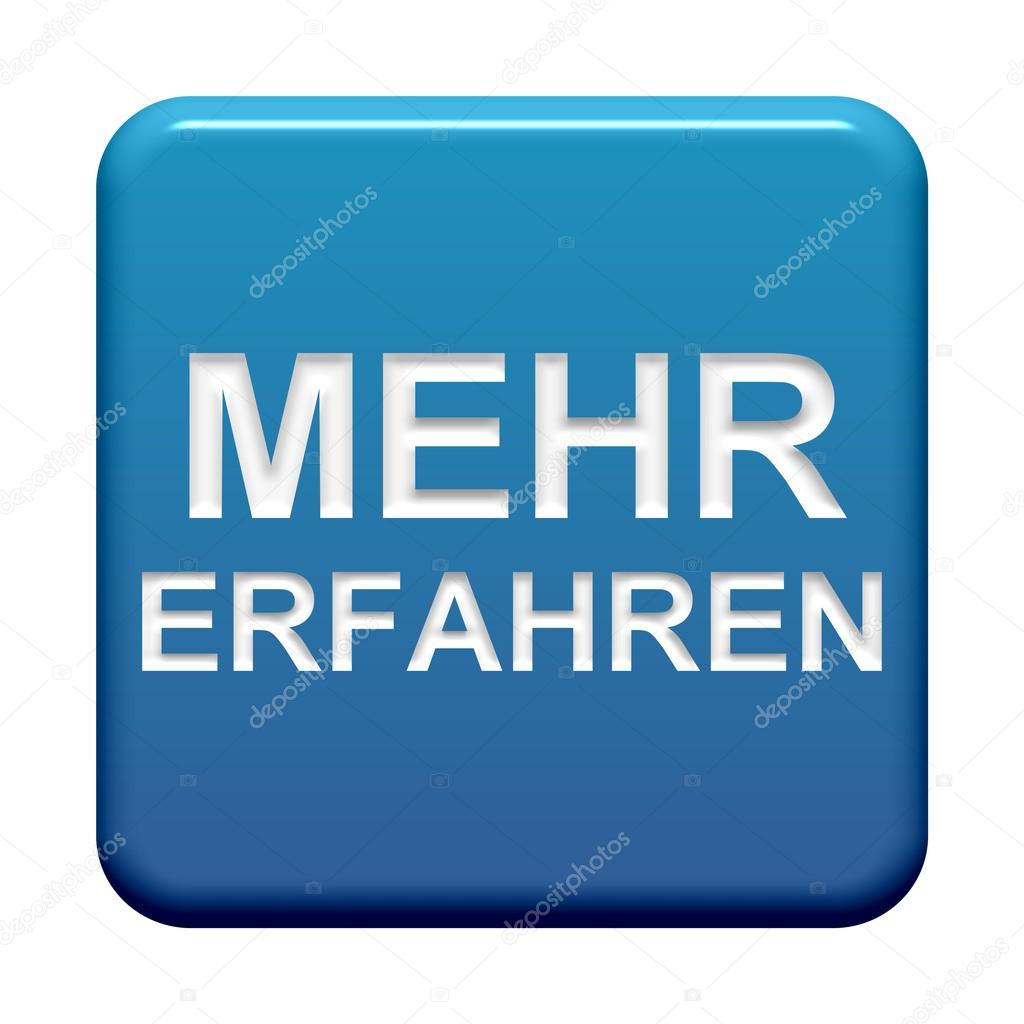 1eb533176a An isolated blue Button showing learn more in german language — Fotó  szerzőtől ...