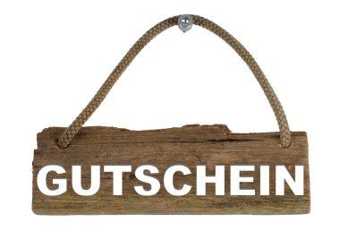 Wooden Board - Voucher