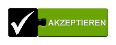 Puzze Button - accept