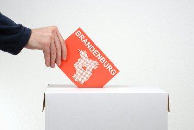 Election in german region Brandenburg