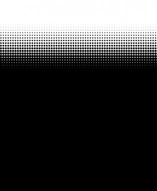 black Background with transitions made of dots