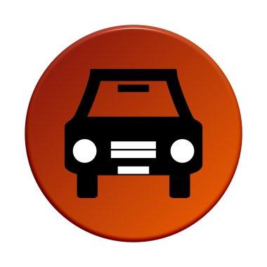 Round Button - Car