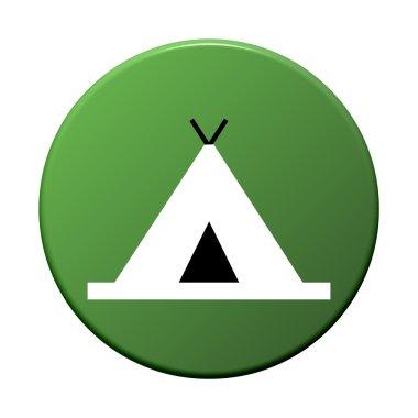 Round Button - Tent