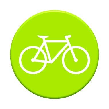 Round Button - Bike