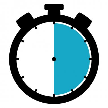 Stopwatch icon - 30 Seconds 30 Minutes or 6 hours