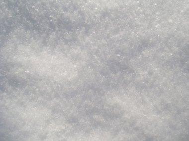 Snow background white