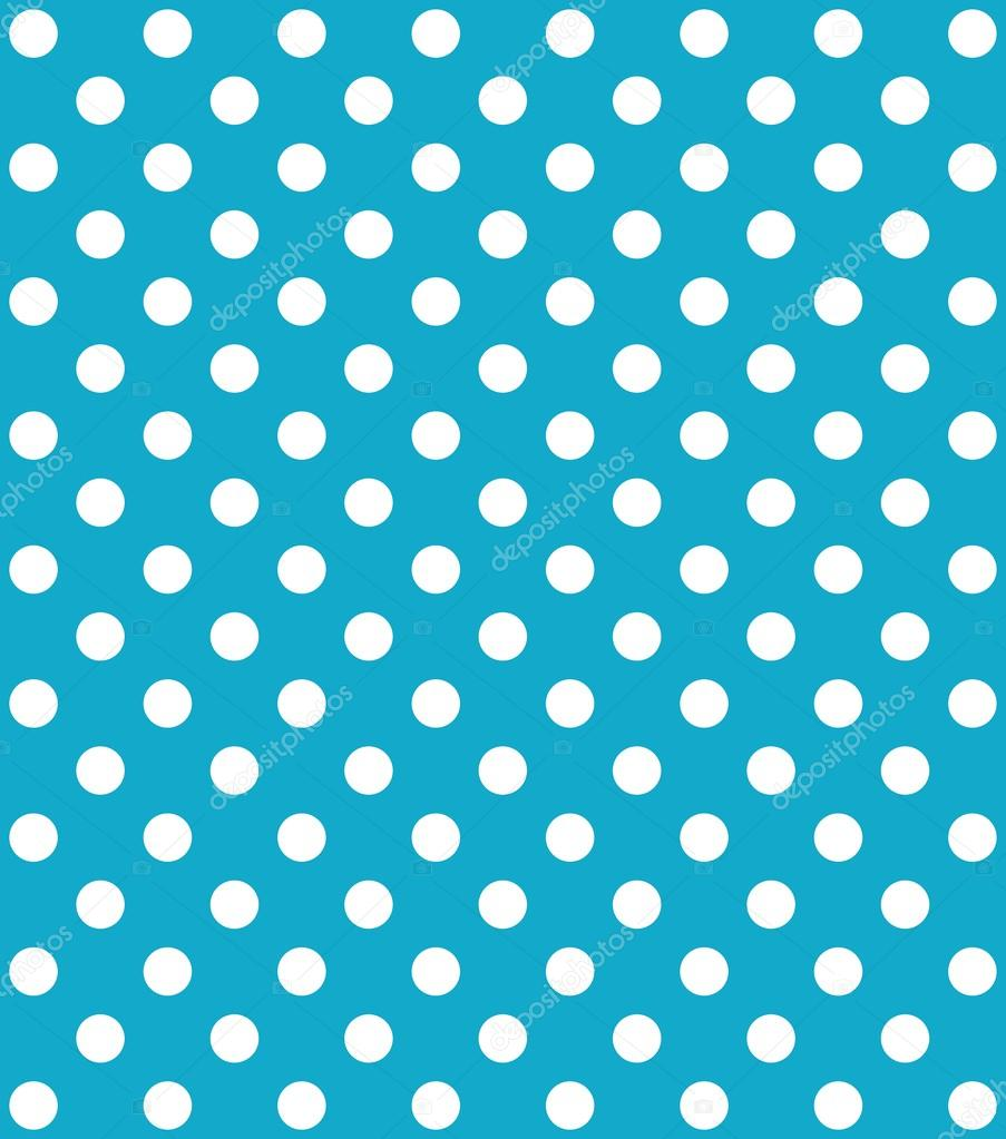 turquoise Background with white dot