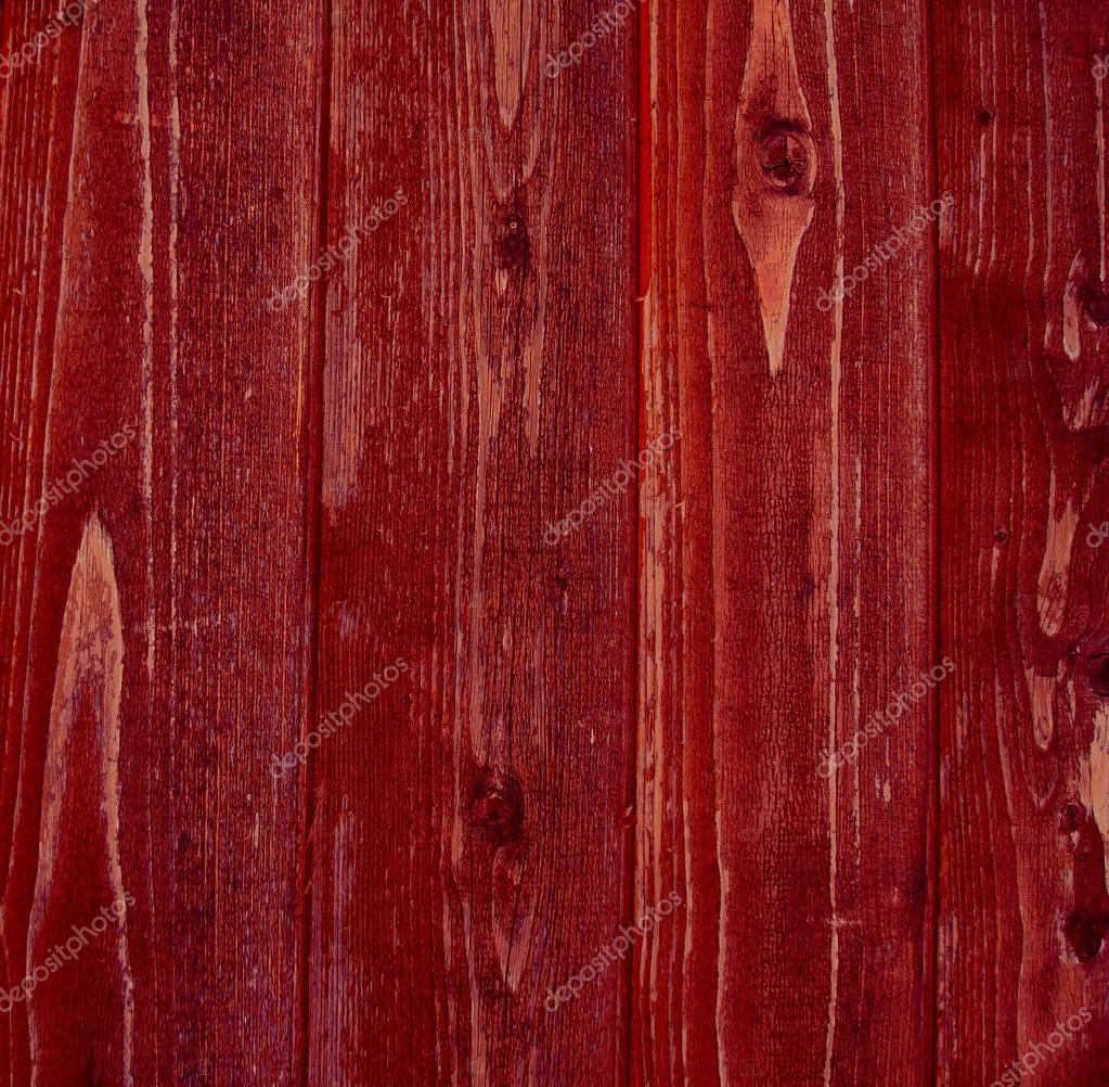 Wood background red
