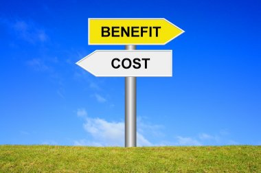 Signpost Cost Benefit