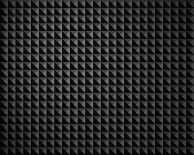 Texture black gray pyramid structure