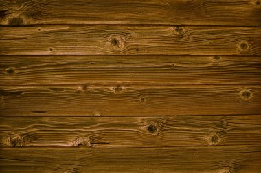 Wooden background with brown planks