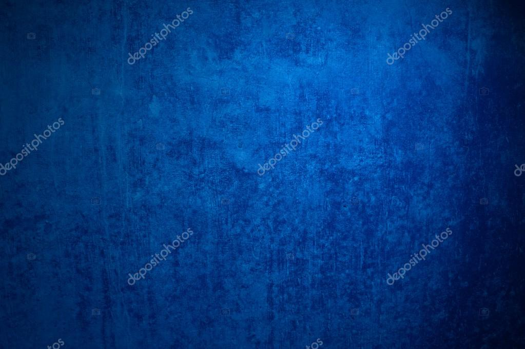 Grunge Background of dark blue stone wall