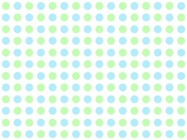 Dotted Background with green and blue dots