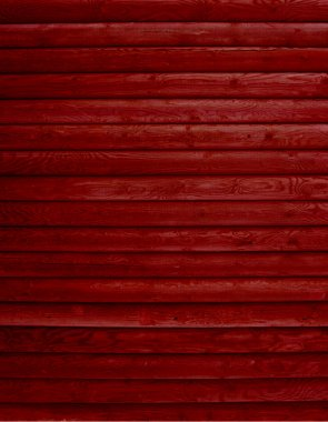 Wood background of red boards