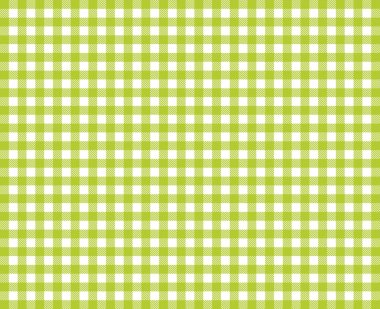 Tablecloths background with green and white color