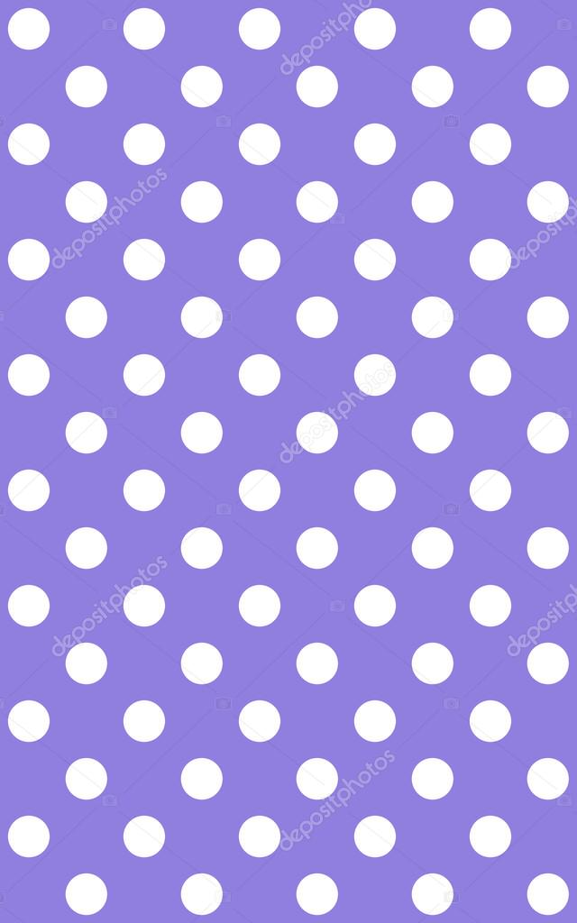 Traditional Dotted Wallpaper With White Dots And Purple Background Photo By Keport