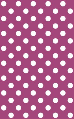 Dotted purple Background with white dots