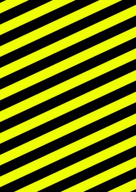 Background with diagonal stripes black and yellow