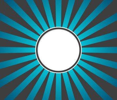 Radiation background gray turquoise