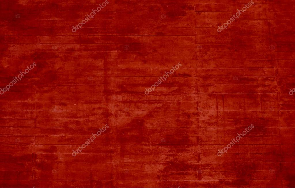 Concrete red wall background