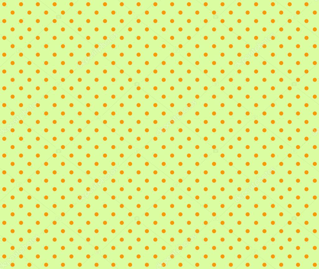 Sfondo Verde Chiaro Con Puntini Arancioni Foto Stock Keport