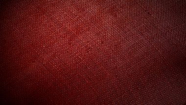 Red fabric as background