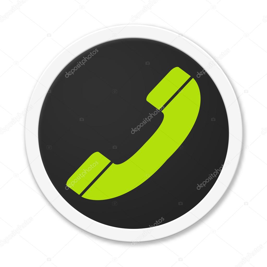 Значок телефонной трубки: стоковые картинки, бесплатные, роялти-фри фото  Значок телефонной трубки | Depositphotos