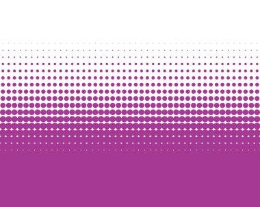 Transition of purple dots