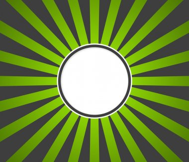 Green gray rays background