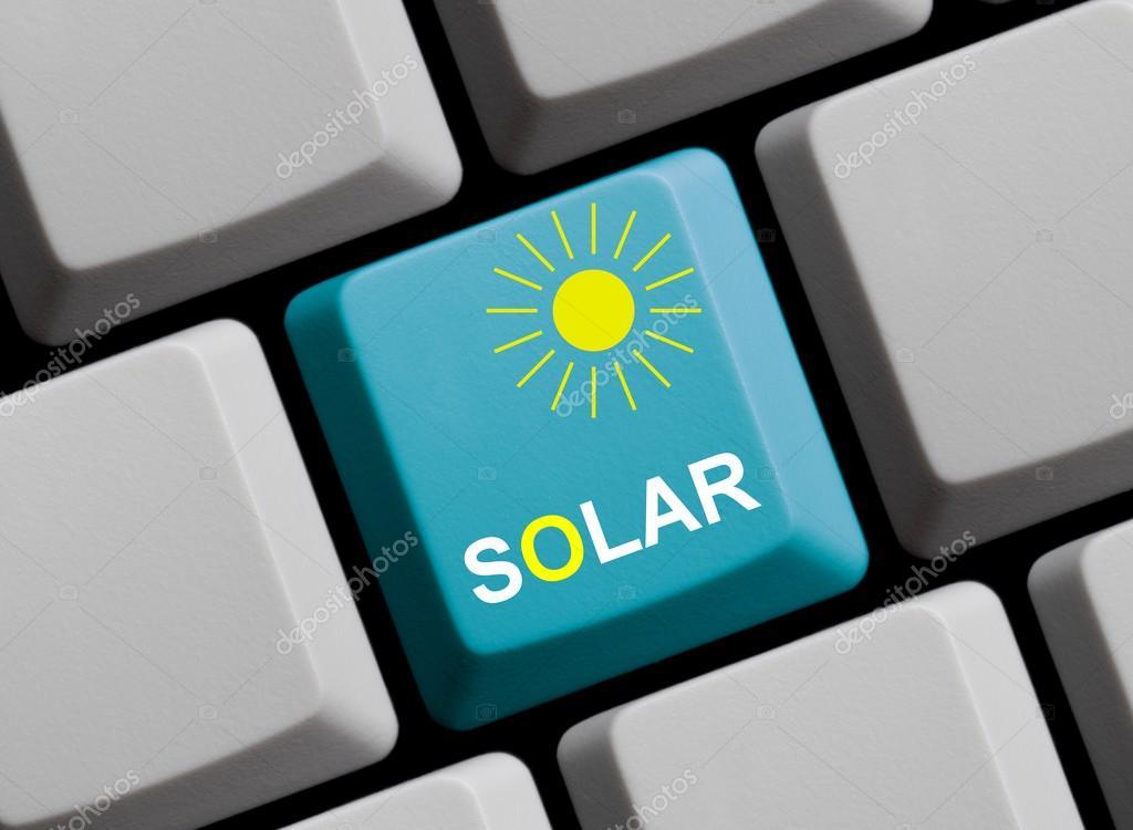 Solar And Sun Symbol Online Stock Photo Keport 89360826