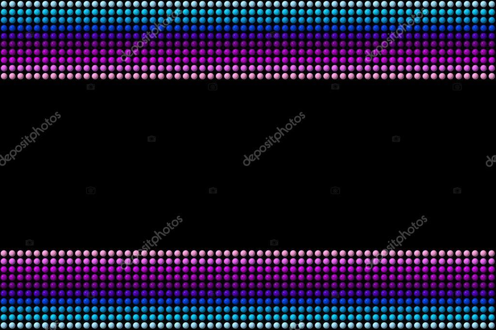 Puntos azul morados y fondo negro — Foto de stock © keport #91245340