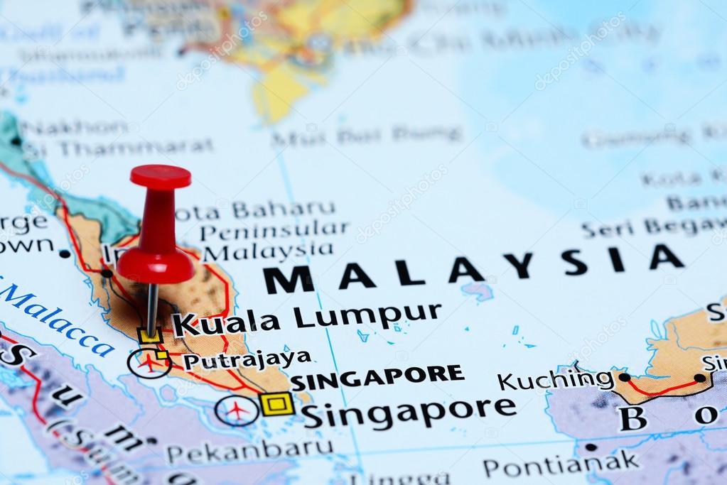 Kuala Lumpur pinned on a map of Malaysia — Stock Photo © dk_photos on bangkok map, cheras map, maldives map, singapore map, beijing map, pyongyang map, thailand map, batu caves, malaysia map, phuket map, abu dhabi, dubai map, seoul map, tokyo map, indonesia map, asia map, petronas twin towers, taipei map, selangor map, jakarta map, ho chi minh city, auckland map, phnom penh, manila map, hong kong map,