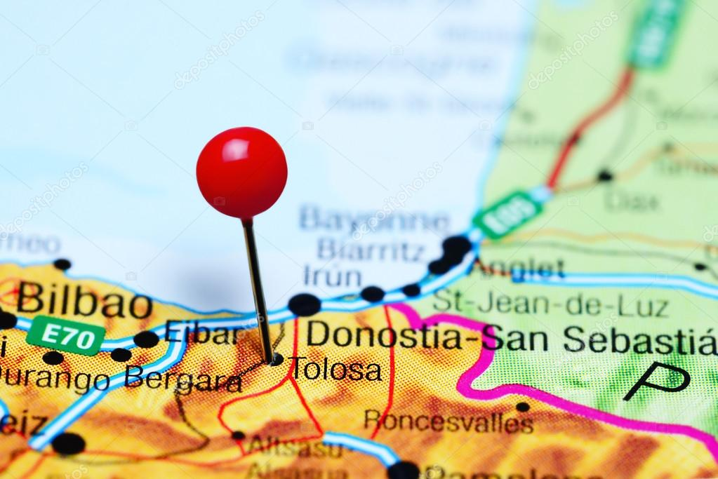Navas De Tolosa Mapa.Tolosa Mapa Detraiteurvannederland