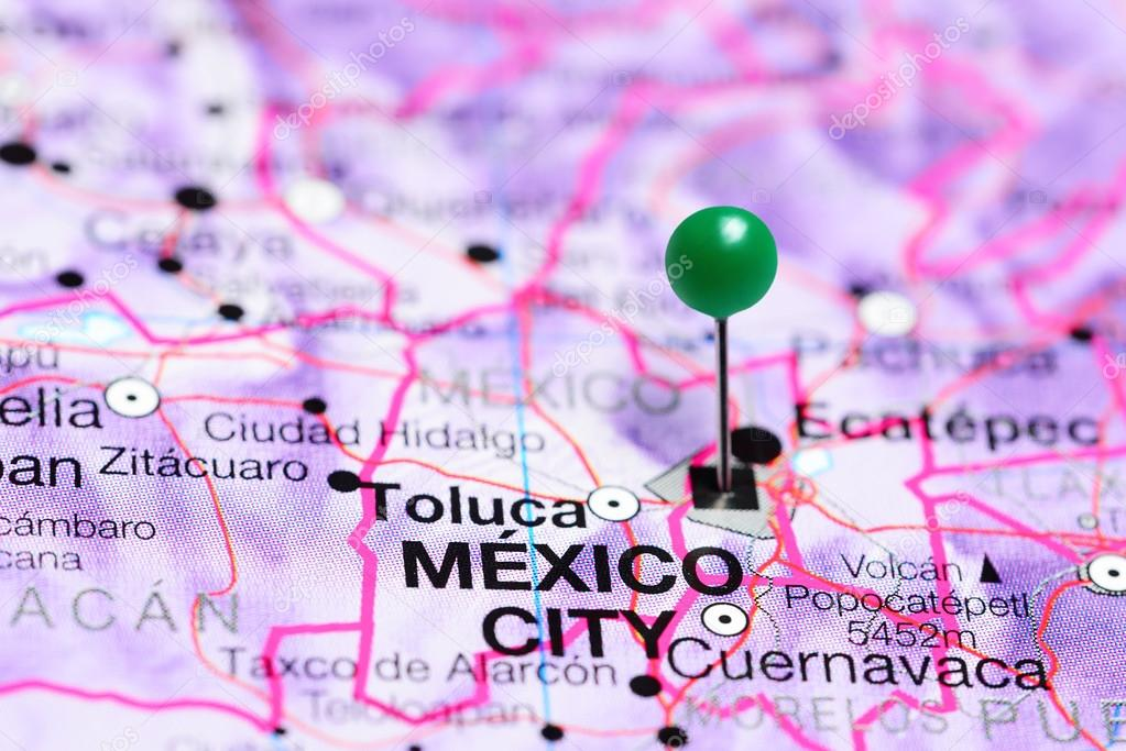 Mexico City pinned on a map of Mexico — Stock Photo ... on a map of latin america, a map of roatan, a map of havana, a map of tamaulipas, a map of los cabos, a map of the southwest, a map of portland, a map of algiers, a map of popocatepetl, a map of milan, a map of rio de janeiro, a map of nassau, a map of zona rosa, a map of caracas, a map of everglades national park, a map of montevideo, a map of sinaloa, a map of the holy land, a map of budapest, a map of harare,