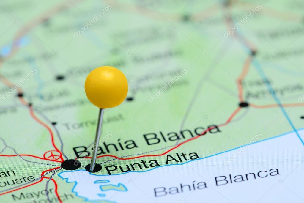 Punta alta cubri en un mapa de argentina foto de stock foto de pinned punta alta en un mapa de argentina puede utilizarse como ilustracin para viajar tema foto de dkphotos thecheapjerseys Image collections