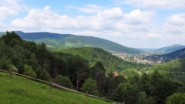 Karpaty Panorama vlevo