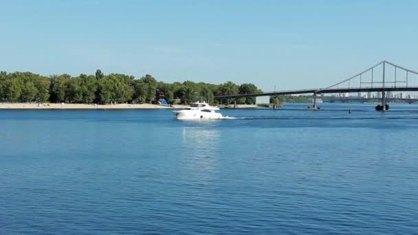 Boat Slowly Floats