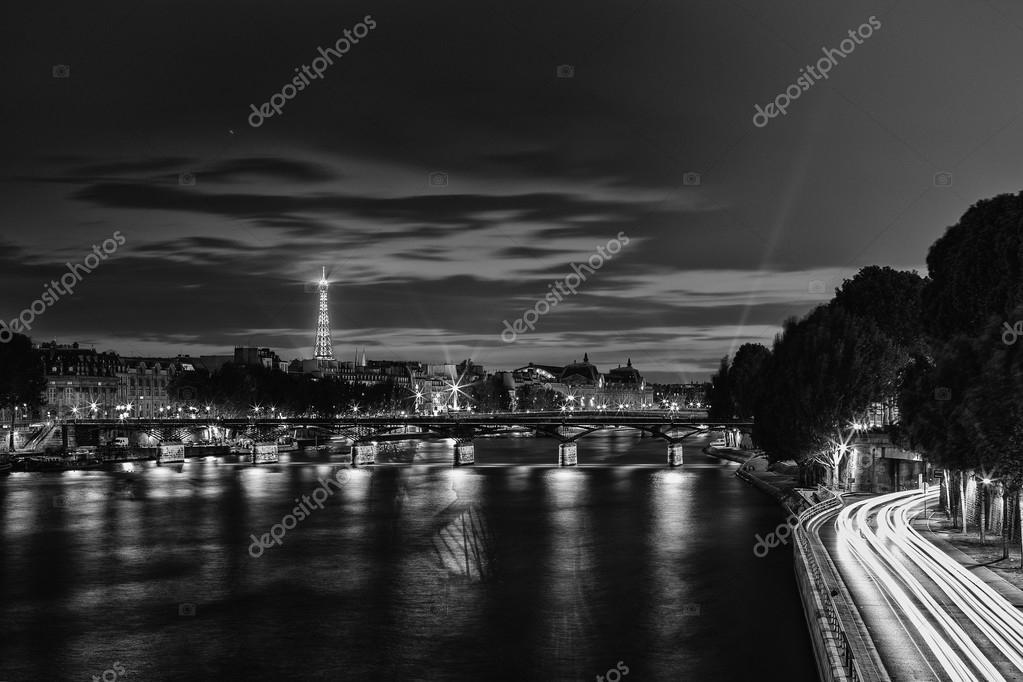 Long exposure of Paris from Pont Neuf