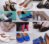 Fotografie Různé barevné boty