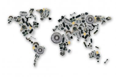 Spare parts map for aftermarket