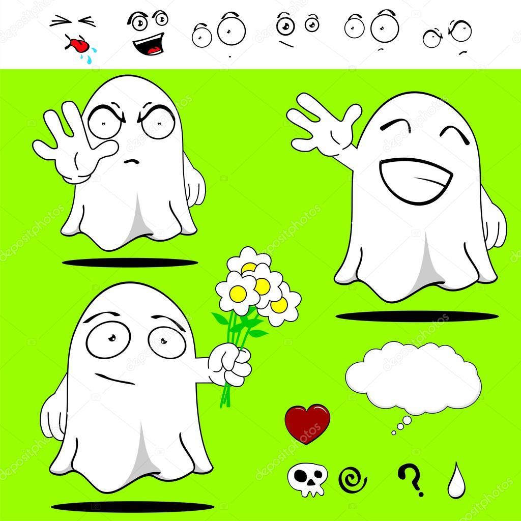 Dibujos Divertidos Y Faciles Conjunto De Dibujos Animados