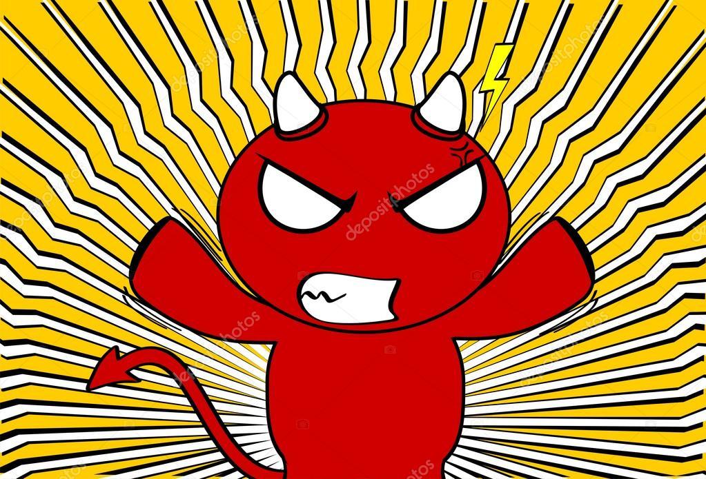 Diavolo di cartone animato immagini diavolo di cartone animato