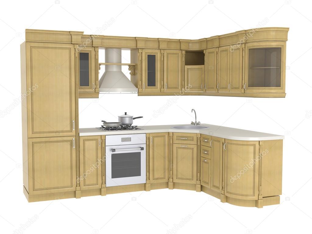 Muebles de cocina integral fotos de stock elenven for Integral muebles