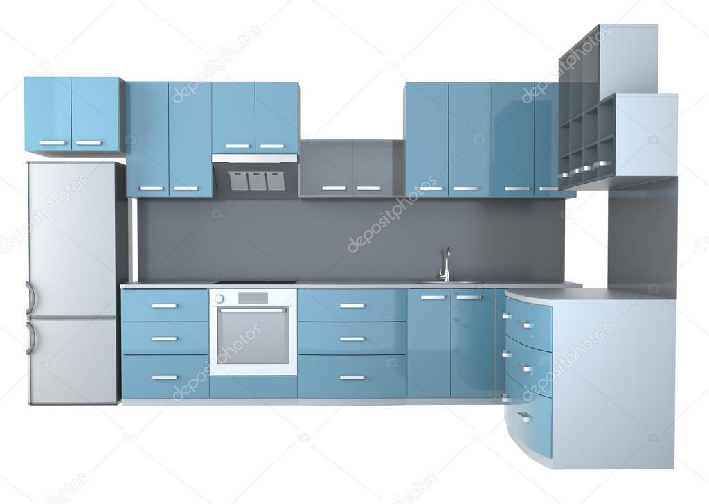 Muebles de cocina integral fotos de stock elenven for Muebles para cocina integral