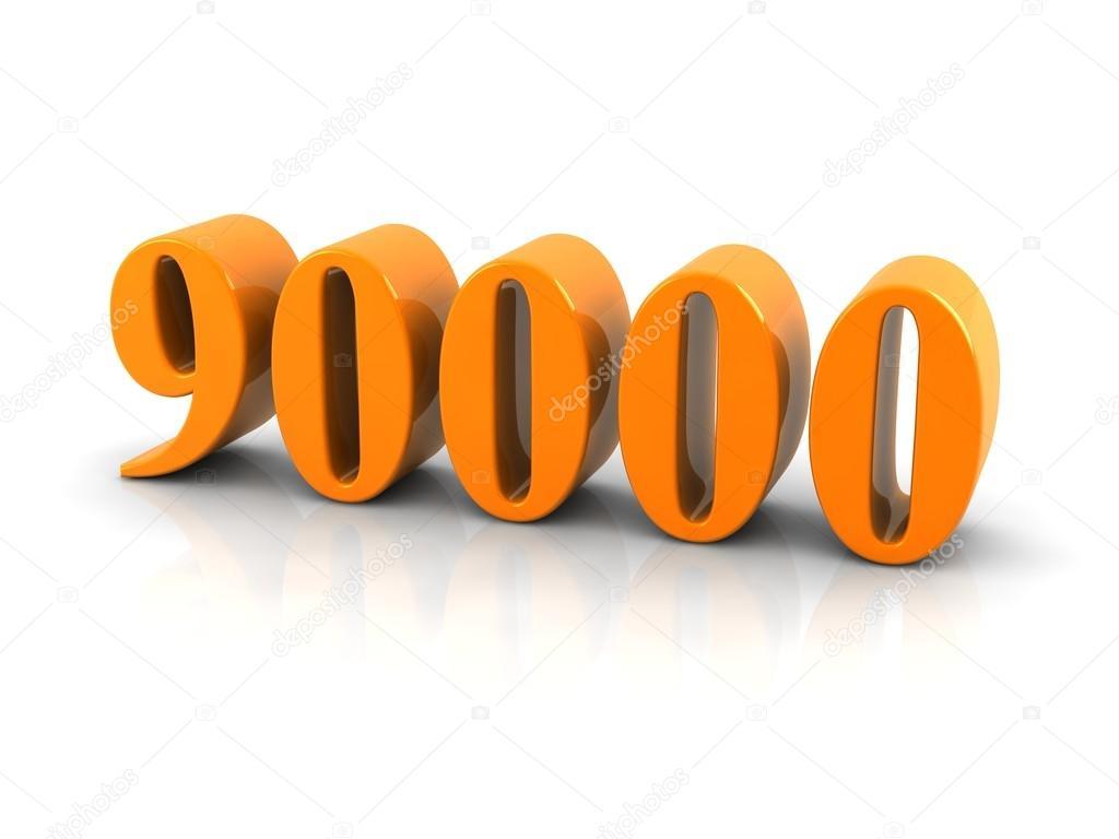 Number 90000  U2014 Stock Photo  U00a9 Elenven  62022955