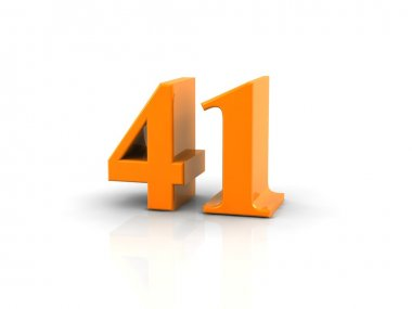 number 41